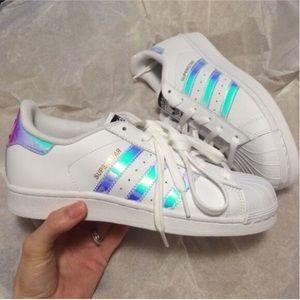 6 Size Holographic Superstar Adidas Poshmark Shoes xqzIAtw4